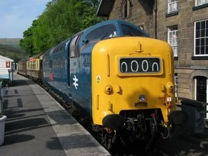 Deltic locomotive