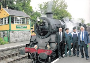80043 - Standard Class 4 Tank - Heritage Railway volunteers - Somerset and Dorset Joint Railway -
