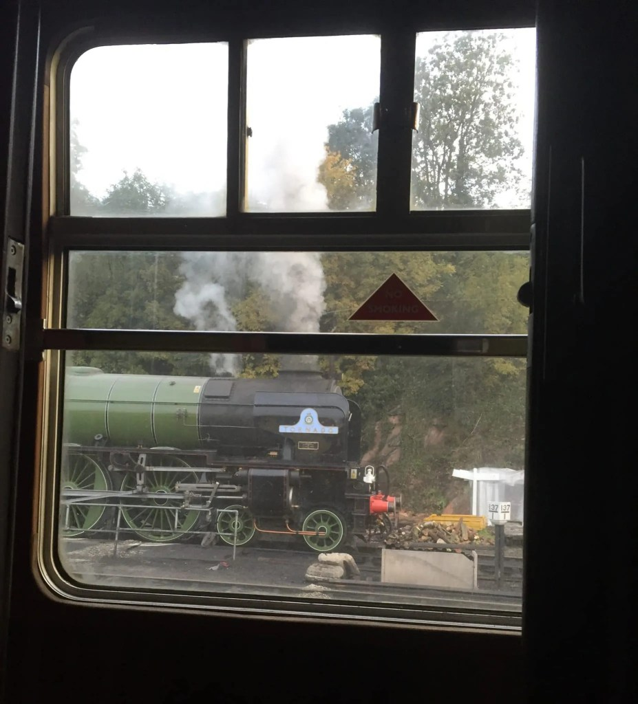60163 Tornado steam train - A1 Peppercorn Class