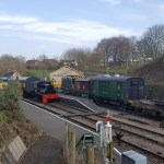 heritage railways - Midsomer Norton - Somerset and Dorset railway - sentinel Joyce