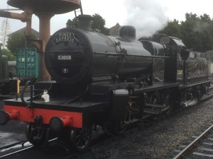 Class 7F - 53809 and 53808 - Minehead - West Somerset Railway - 2017