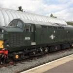 Class 37 D6729 - Ongar Station - Epping Ongar railway