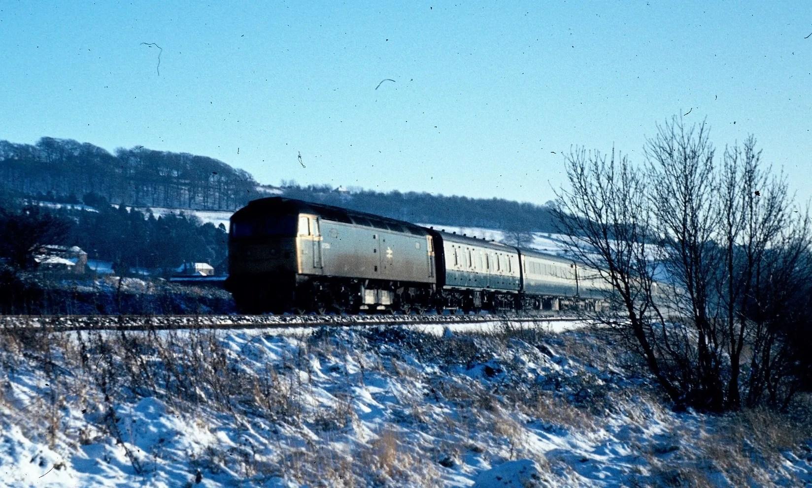Class 47 - Midland Mainline - Belper - 1970s