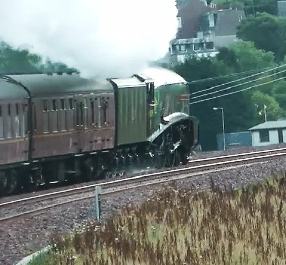 60009 - Union of South Africa - Waverely Route - October 2015