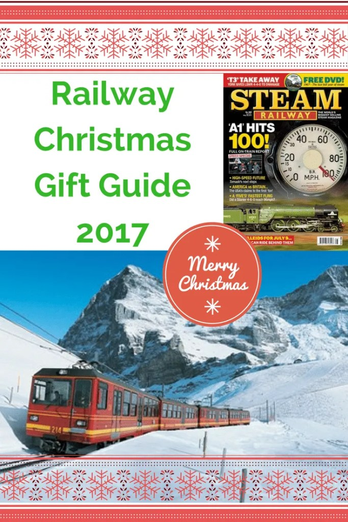 Railway Christmas gift guide 2017