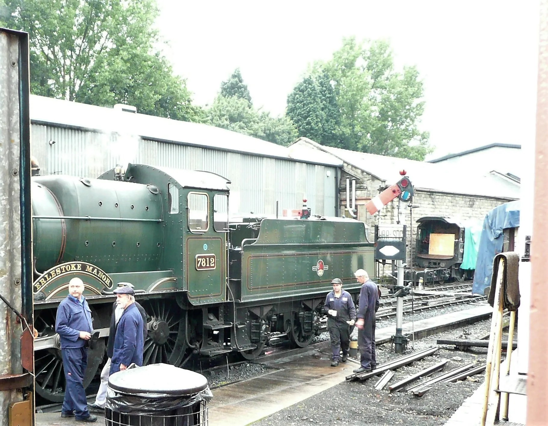 Severn Valley Railway loco shed