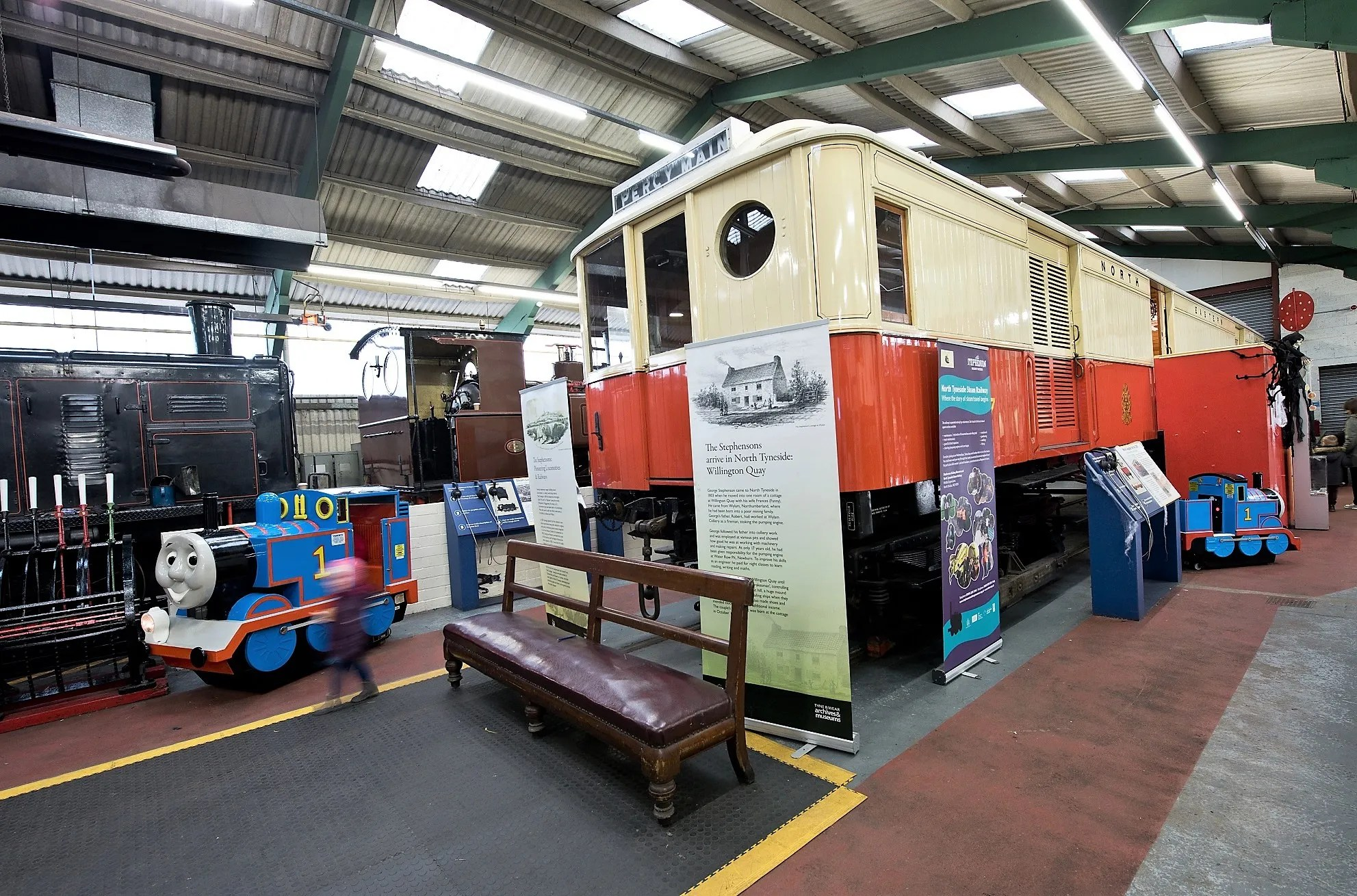 Stephenson Railway Museum - interesting railway people