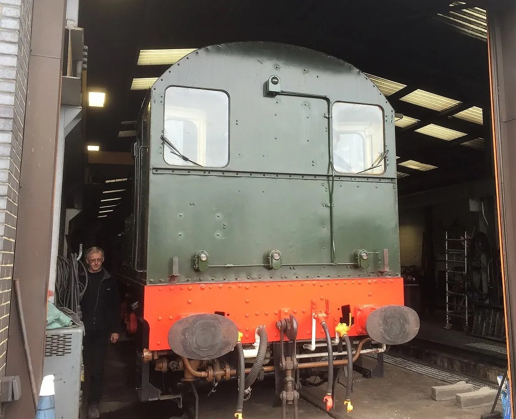 Class 08 Shunter D3935 in green livery