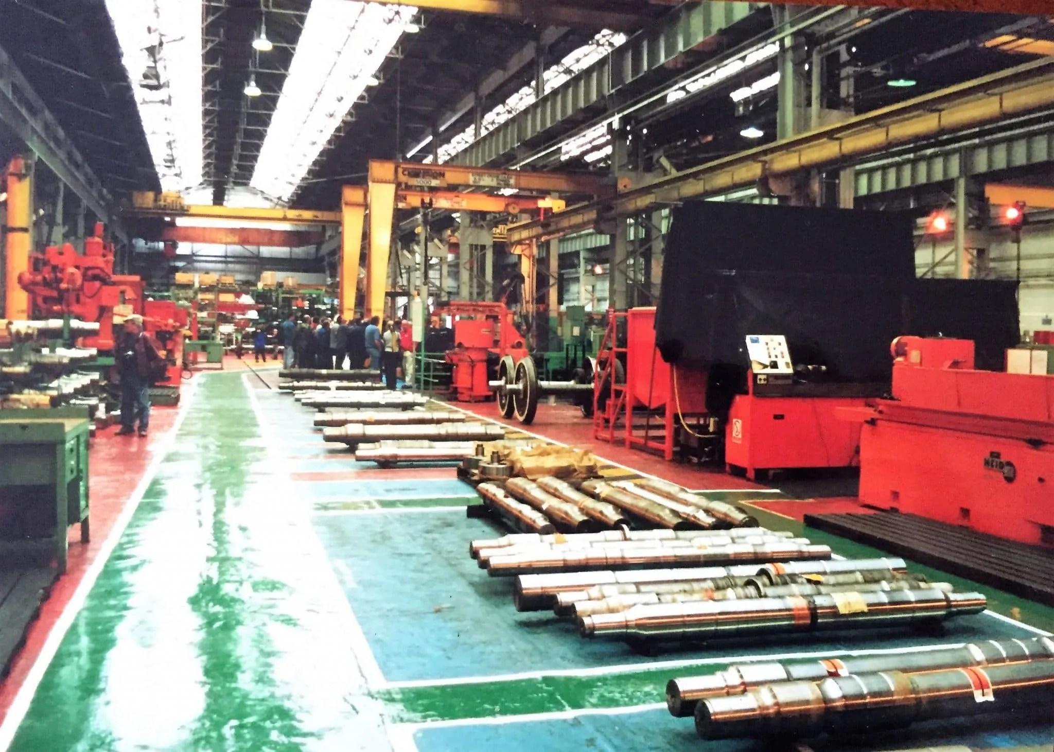 Crewe Works workshop