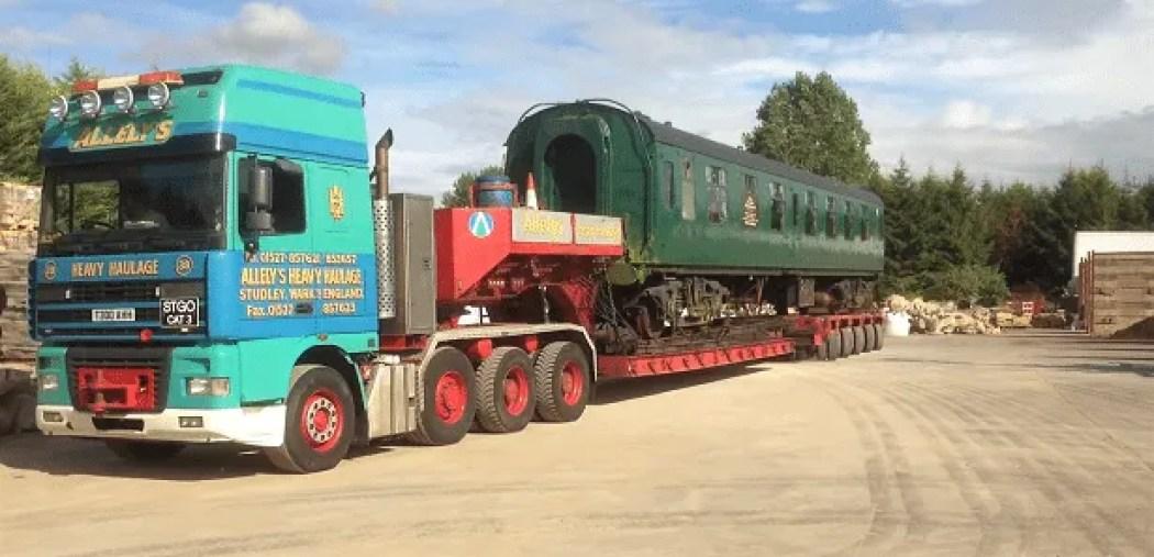 railway carriage FO S3065
