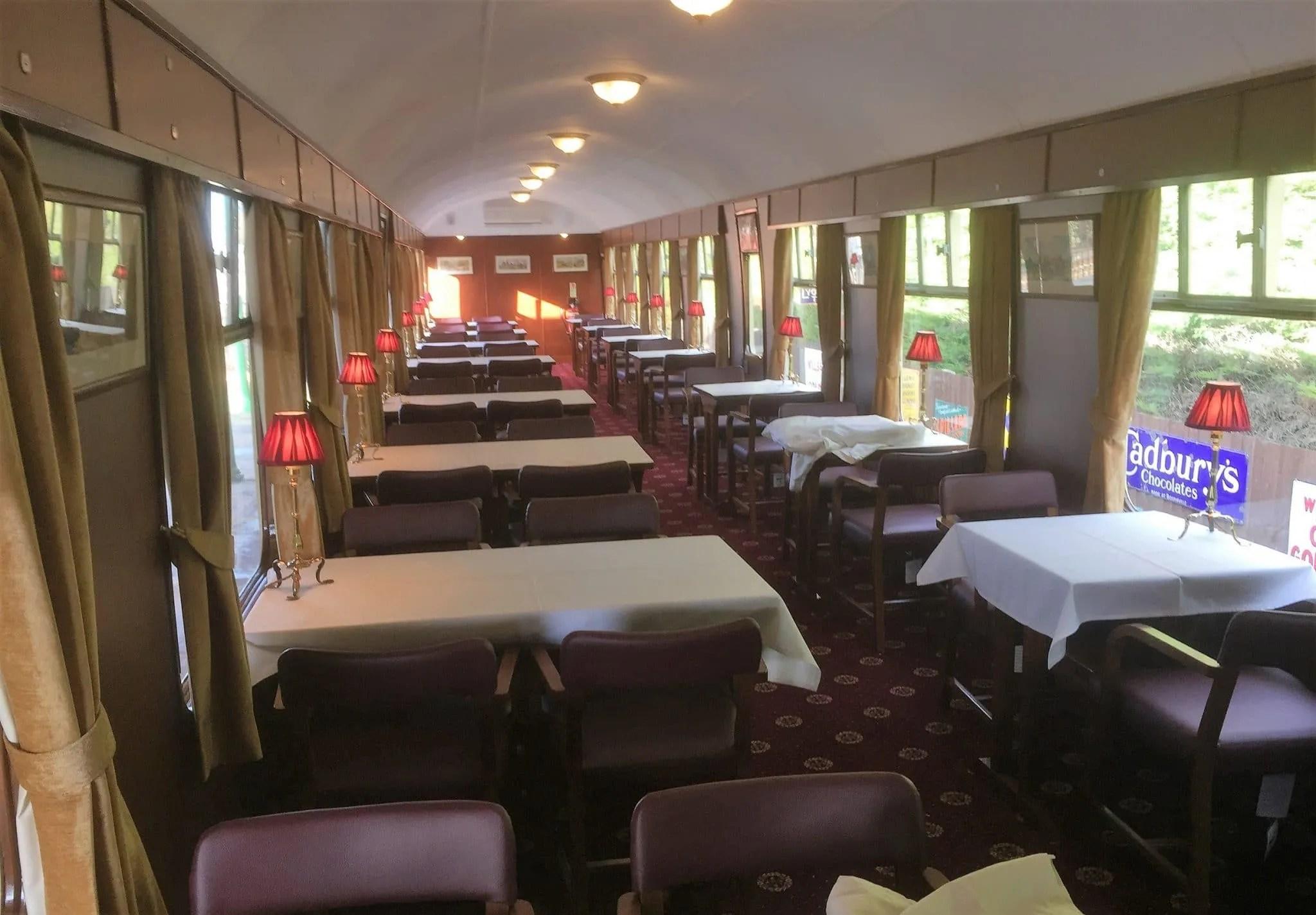 Railway carriage restaurant - SK 24458