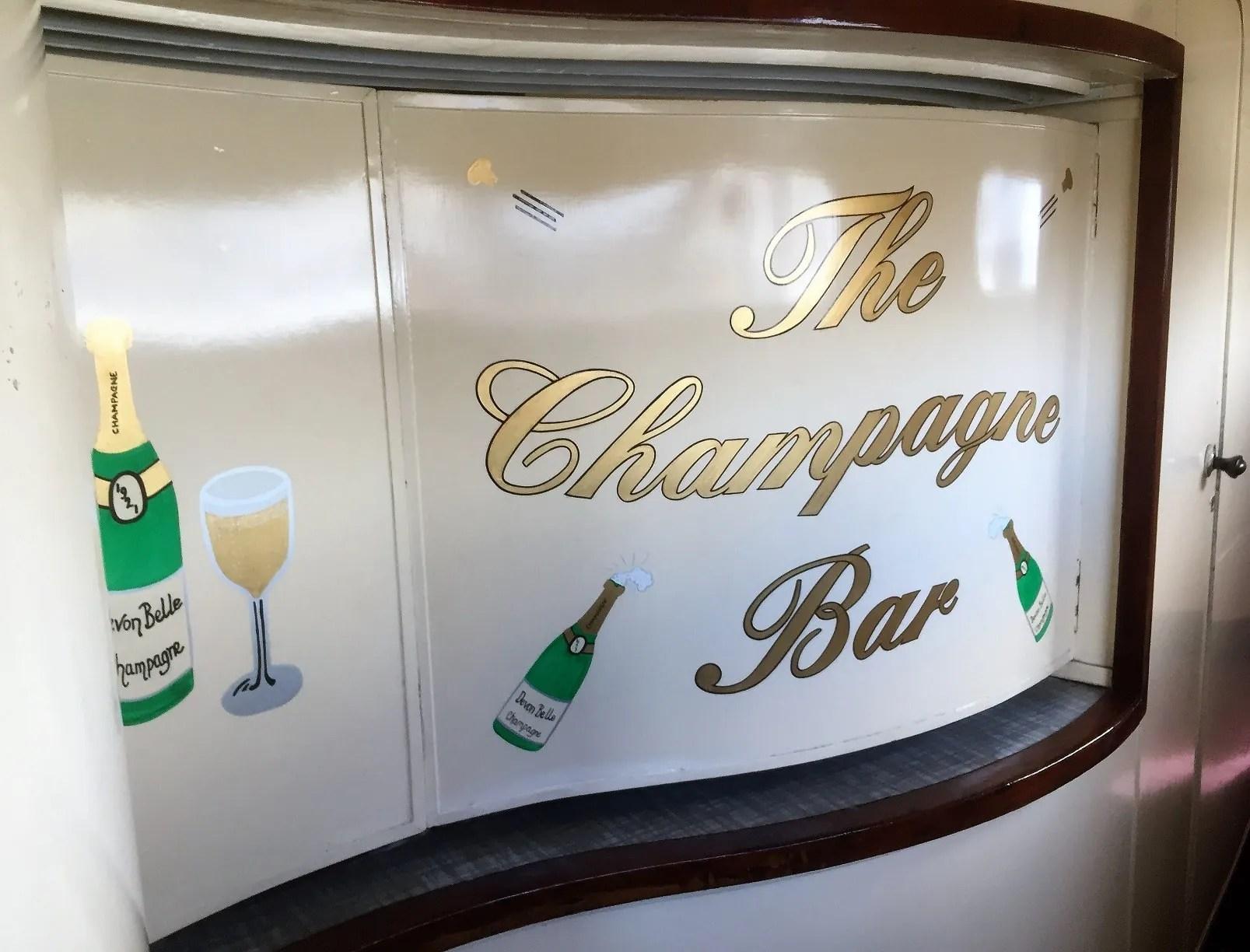 Devon Belle Champagne Bar