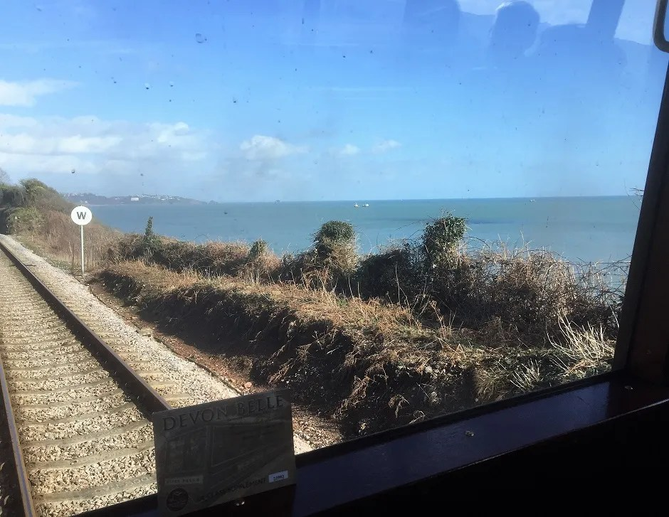 Devon Railway gives great views of Torbay