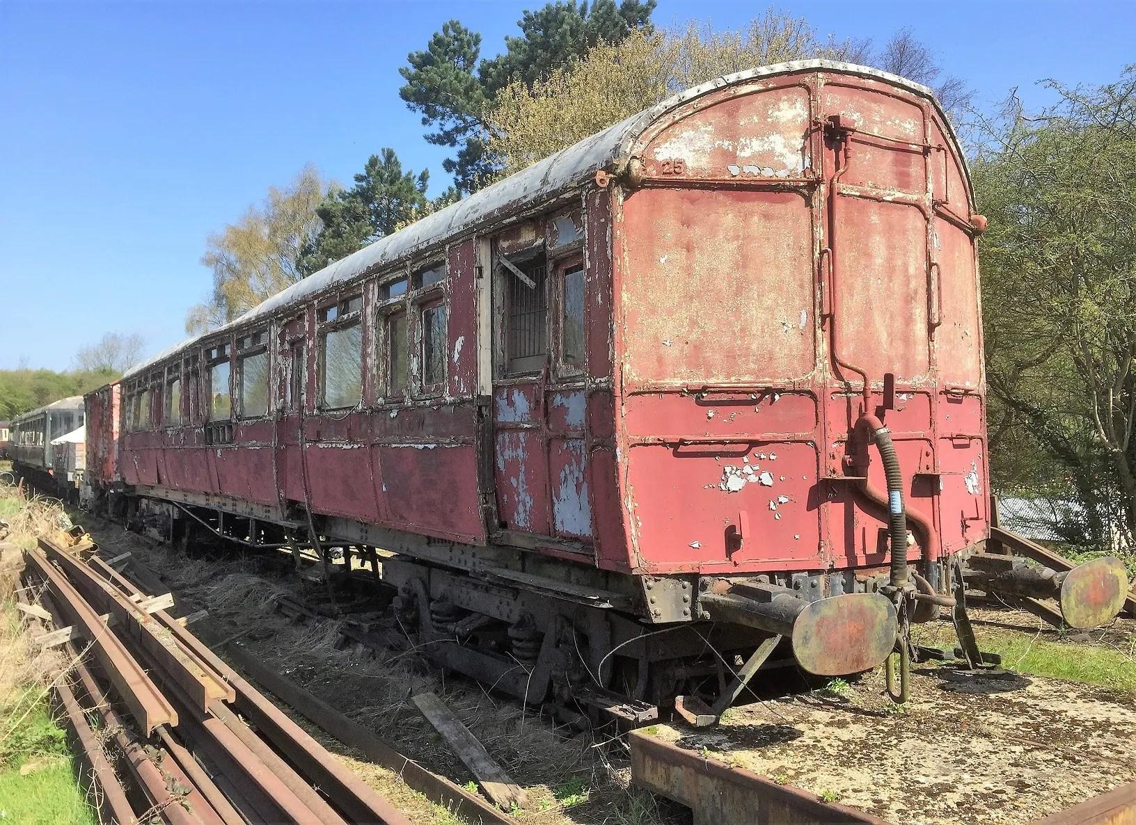 GWR Autocoach No 38 built 1907 Telford Steam Railway