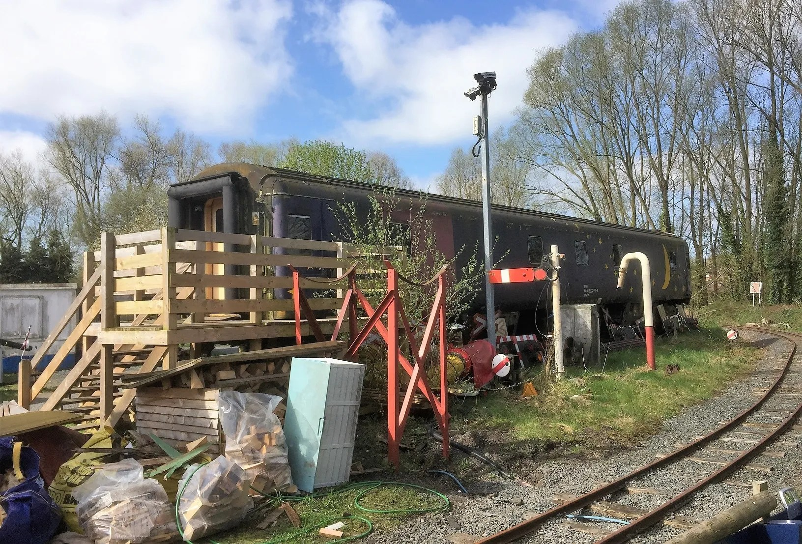 Mark 2 Sleeper at the Telford Steam Railway