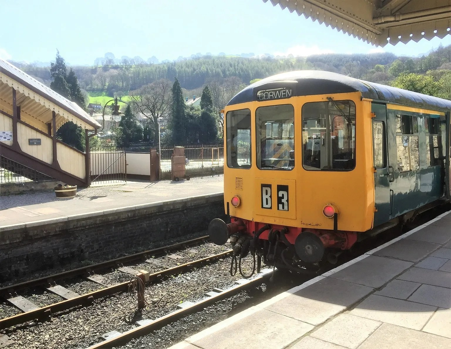 Birmingham Rail & Carriage Works BR Class 104 in Llangollen Railway Station