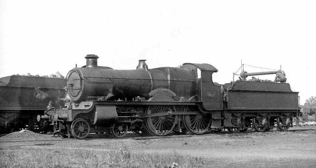 3827 'County of Gloucester' steam locomotive