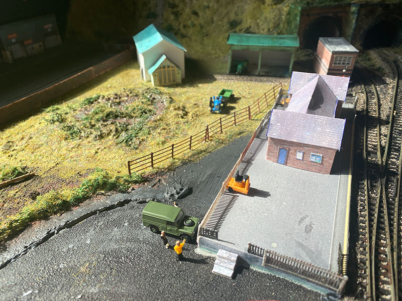 Our N Scale layout – Part 4