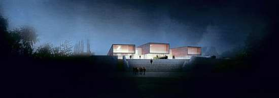Artist's impression of the Wilkinson Eyre museum plan.