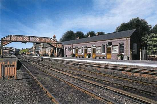 An artist's impression of the new restaurant and toilets that will be situated at Bridgnorth. SVR