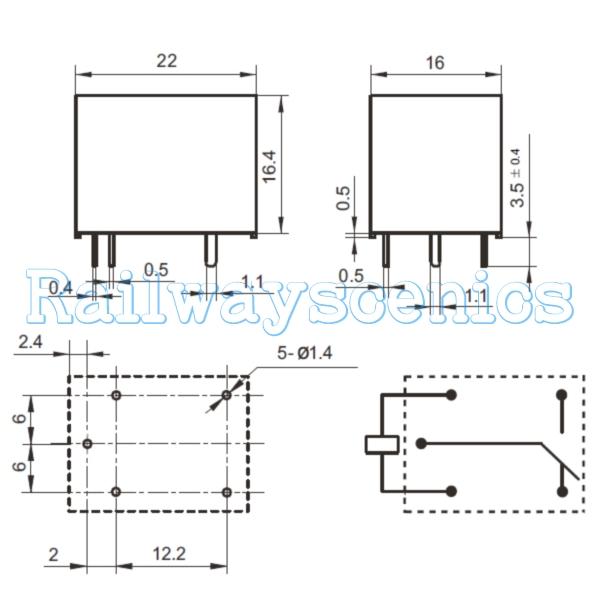 Standard Dpdt Relay Wiring Diagram 8 Pin Relay Diagram