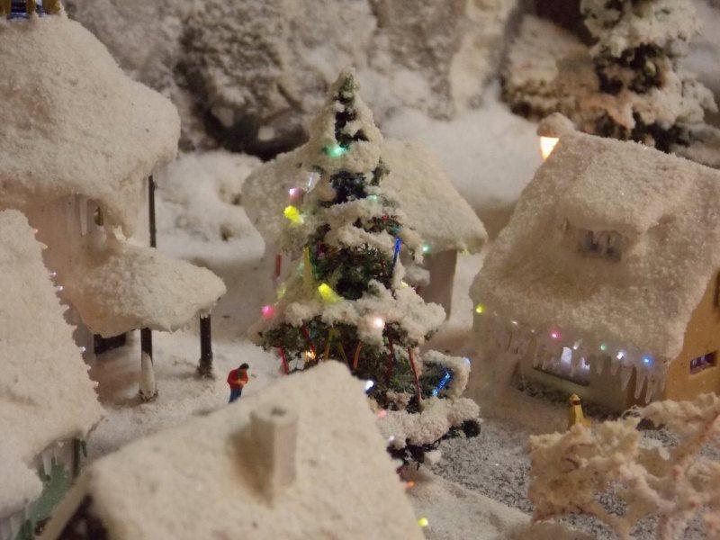 Outdoor Christmas Tree Lights