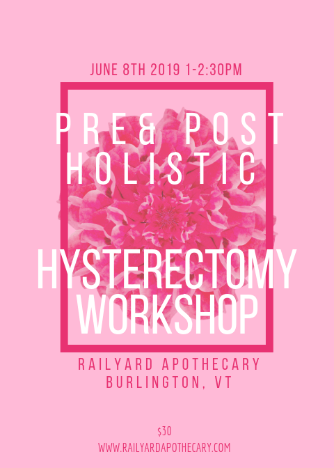 Pre  Post Hysterectomy Holistic Support