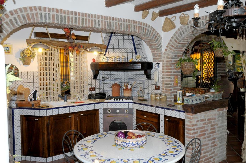 Cucina finta muratura Tosca  Rivenditori cucine Sicilia