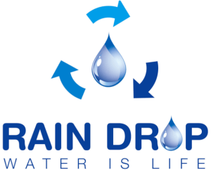 Logo Rain Drop Organization