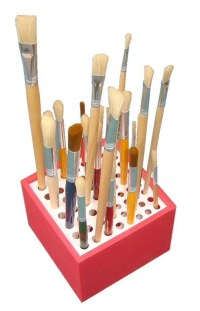 Artist Paint Brush Holder | Children's Art Materials