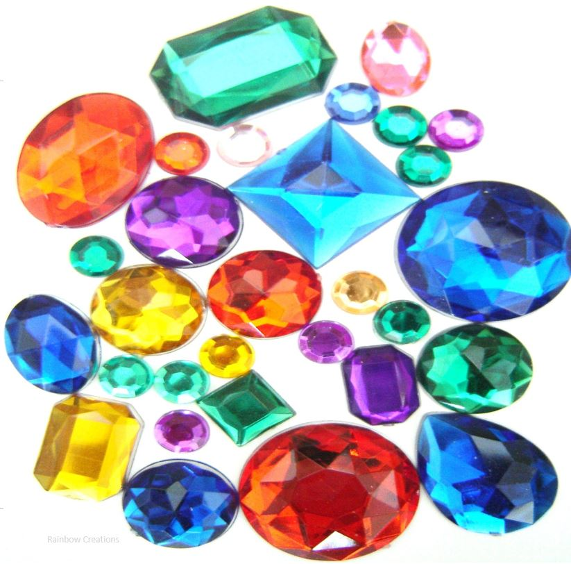 Acrylic Jewels Children S Craft Supplies Decorations