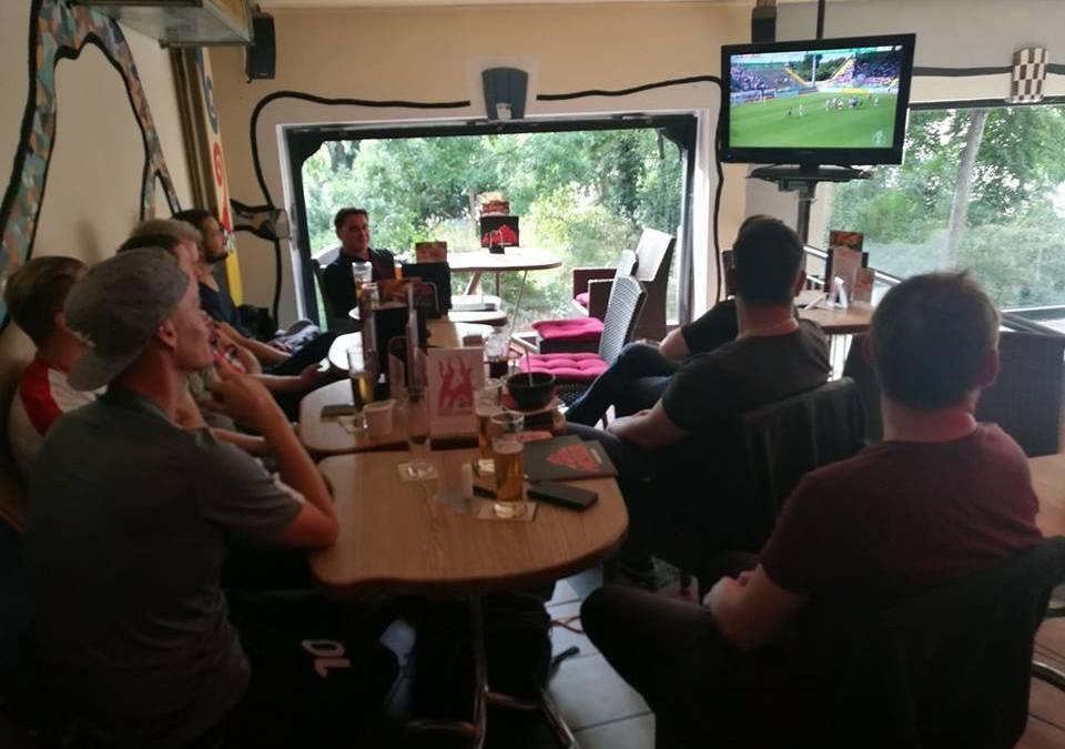 Gemeinsam Fußball schauen – 1. Runde DFB Pokal