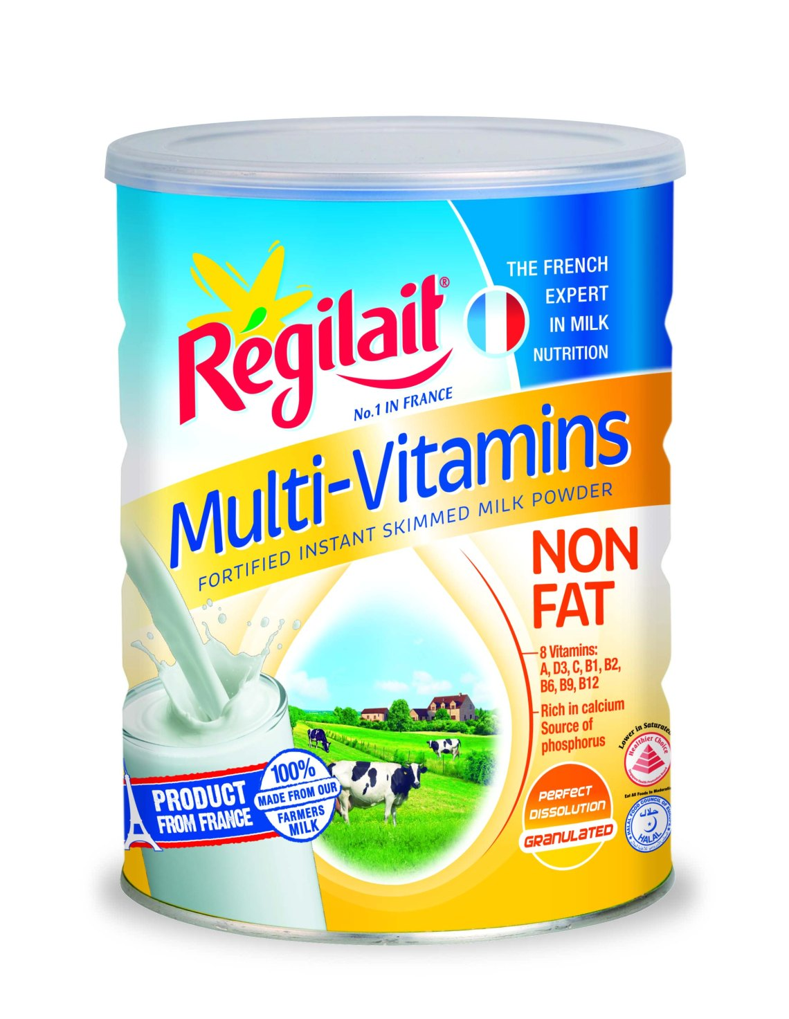 Regilait Multi-Vitamins Non Fat