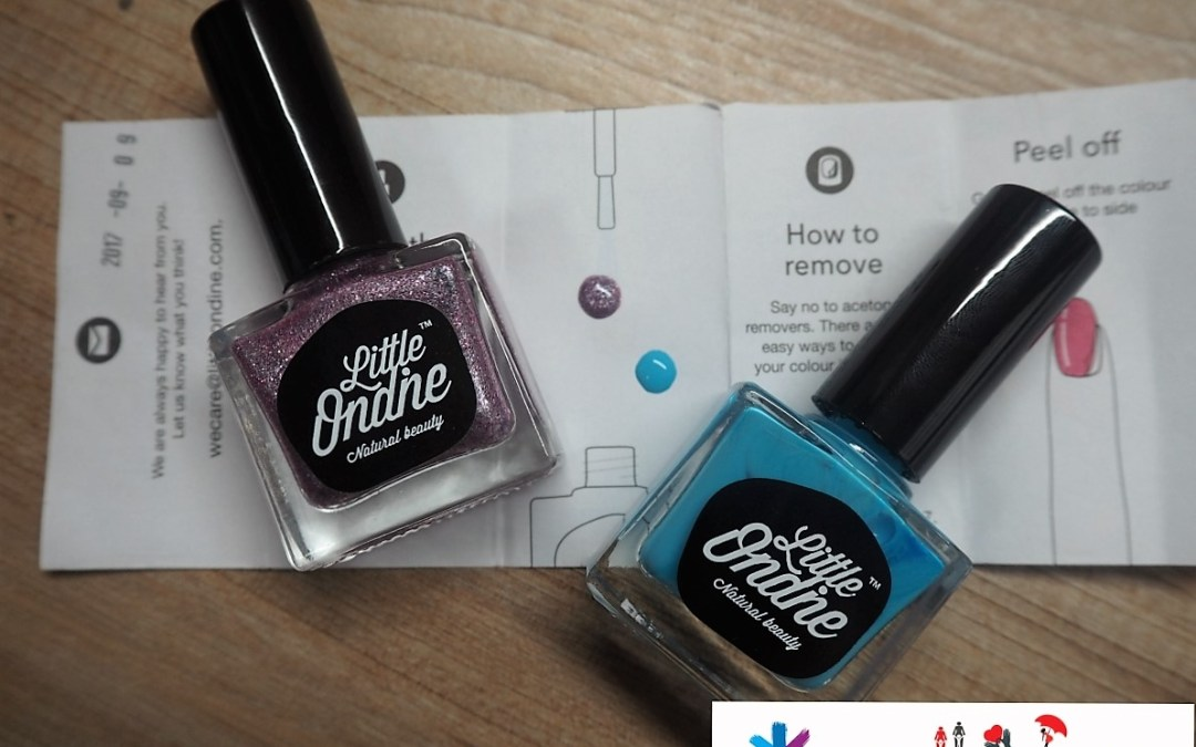 Little Ondine – Why I prefer these happy nail colors for my Little Sunshine?