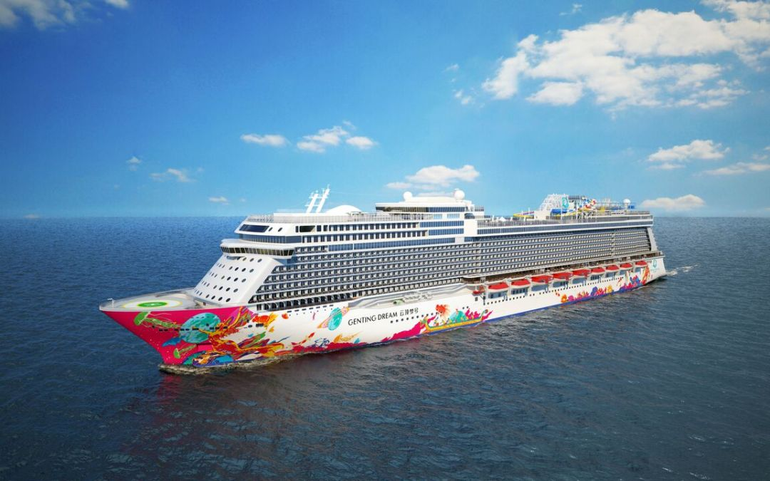 Truly a Dream on Seas! Dream Cruises' Genting Dream debuts in Singapore…