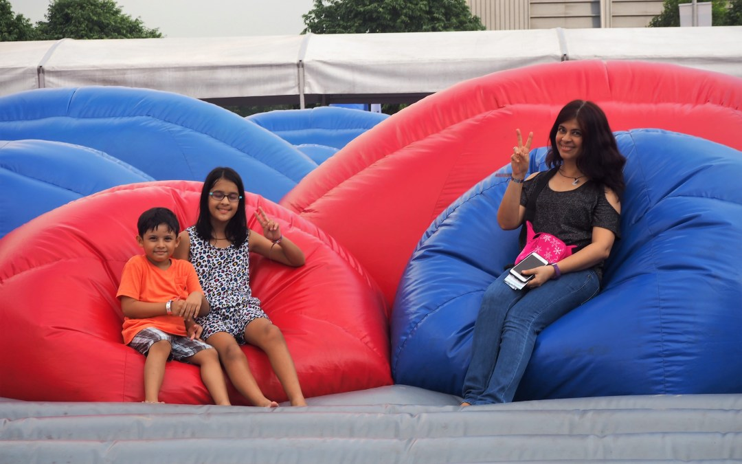 Bounce, Slide, Jump, Feast – Asia's largest outdoor inflatable play space is here!