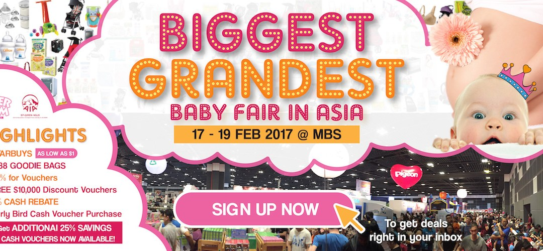 {Free Supermom Vouchers} SuperMom Baby Fair 2017 is here…
