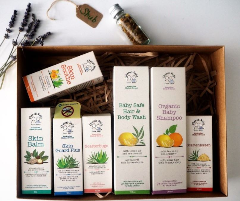 {Review and Giveaway} Cherub Rubs – Organic Skincare for the family