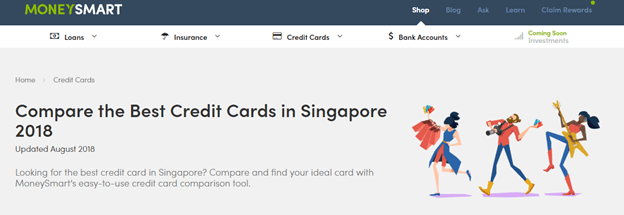 Which credit card to go for in Singapore?