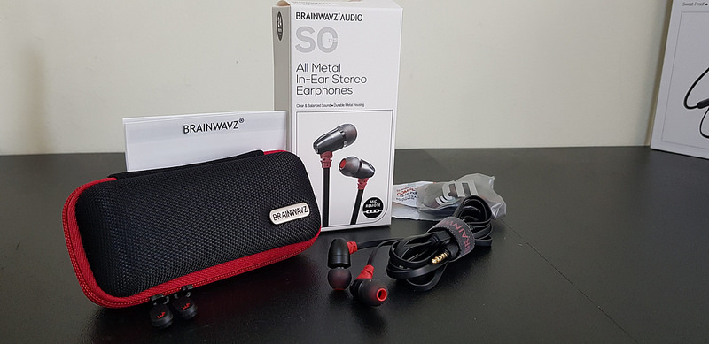 Brainwavz new range is true to its reputation