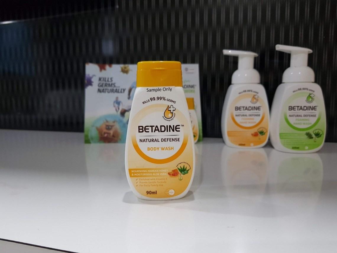 Natural Defense range of Betadine® - RainbowDiaries - Colors