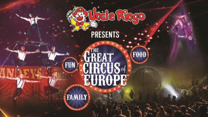It's Show Time with The Great Circus of Europe and Carnival