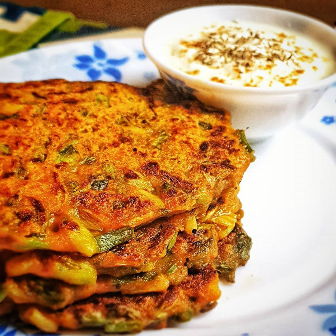Easy Recipe: Spring Onion Pancakes