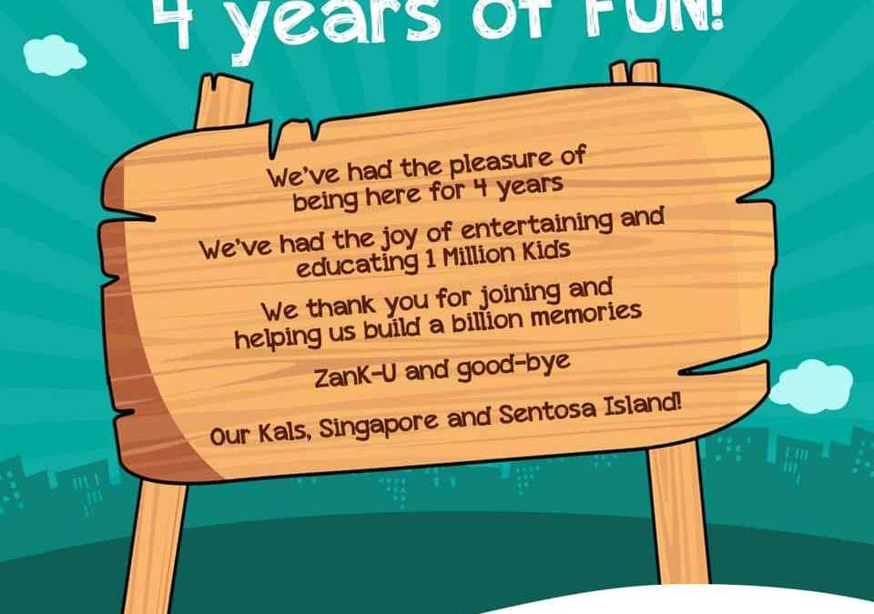 What? Yes, KidZania Singapore is closing down!