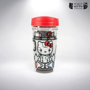 Robot Kitty Singapore Water Tumbler