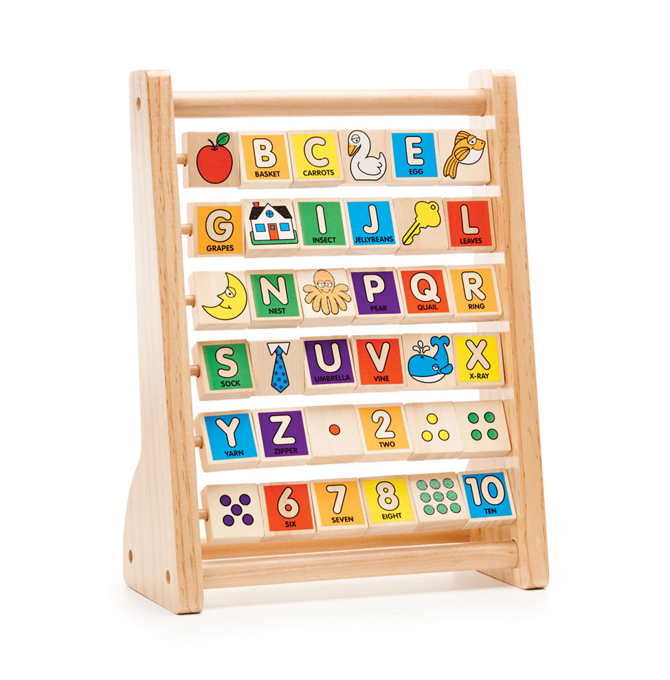 Melissa And Doug Wooden Abc 123 Abacus Buy Stem