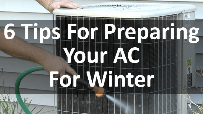six tips for preparing your AC for Winter