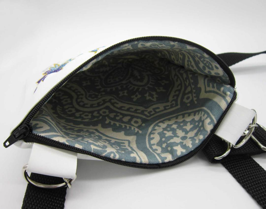 Elegant Swallow Bag Inside Closeup