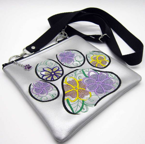 Flower Paw Cross body Bag Face