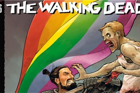 The Walking Dead, arriva in Italia un numero speciale a sostegno dell'Onda Pride